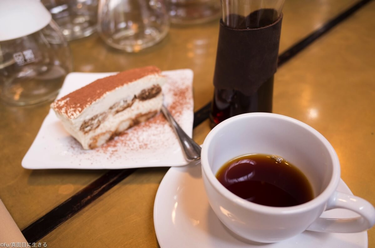 workshopcafeのコーヒー