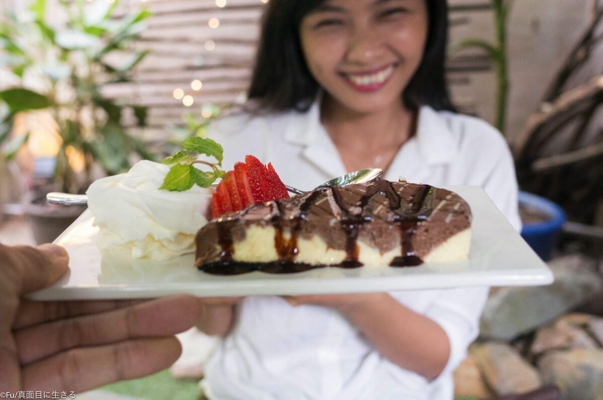 チョコチーズケーキと彼女