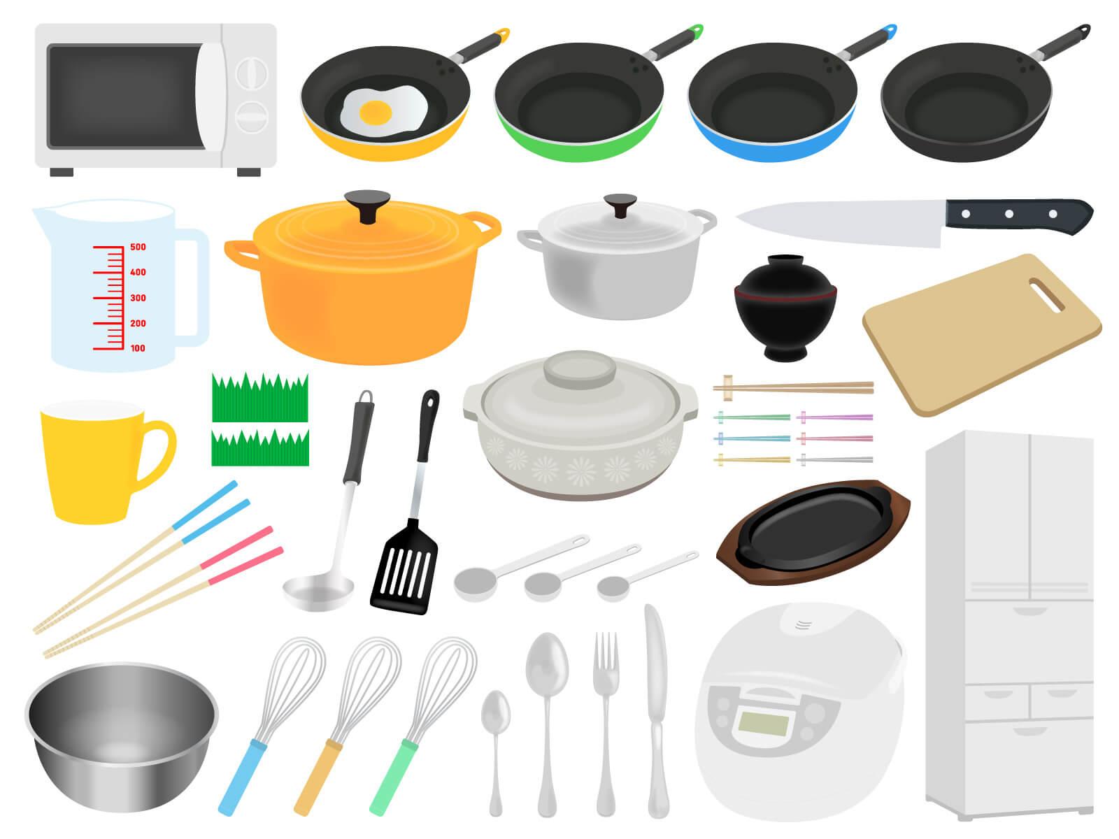 全部買っても1万円【引越し・一人暮らし】自炊にオススメ料理道具10選