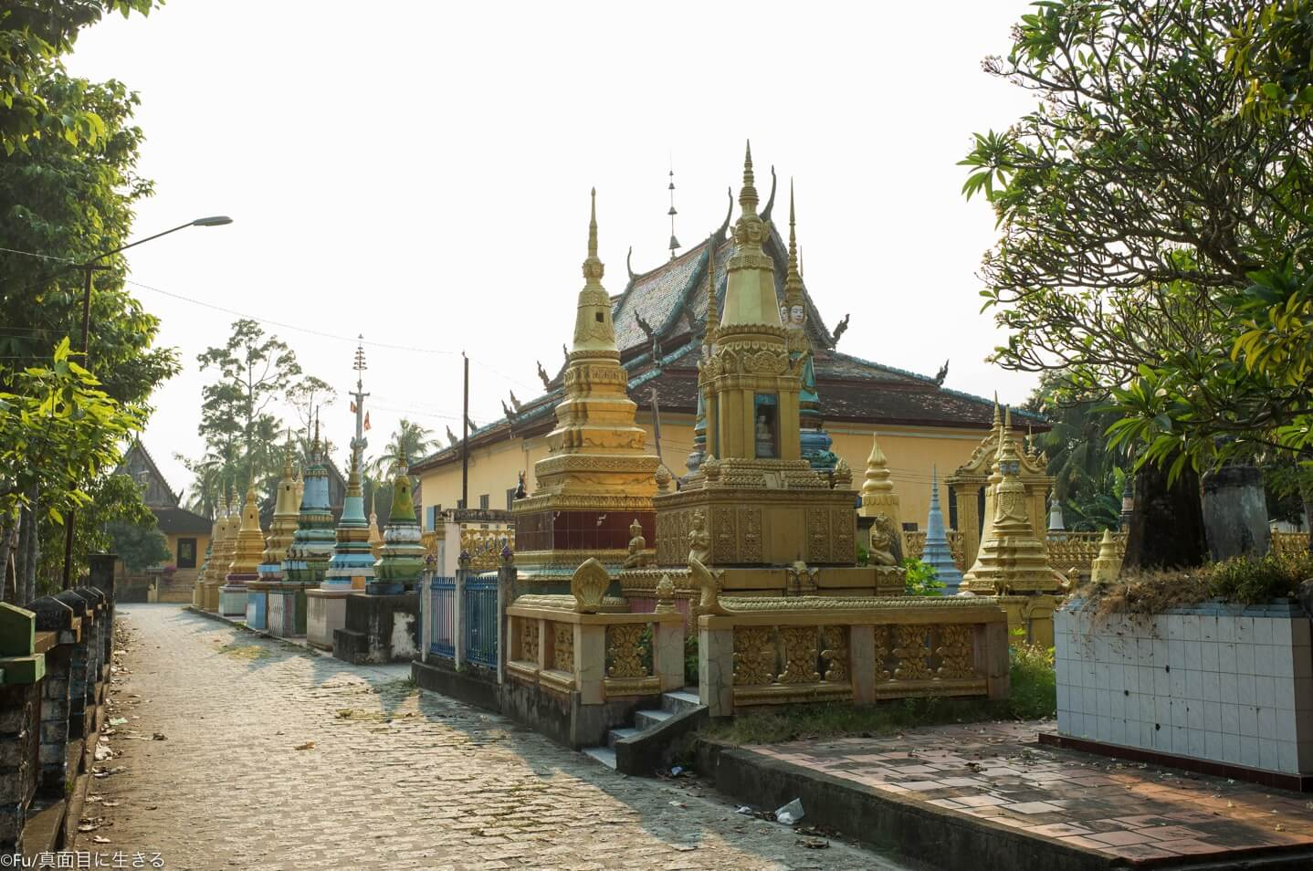 カンポジアの寺院