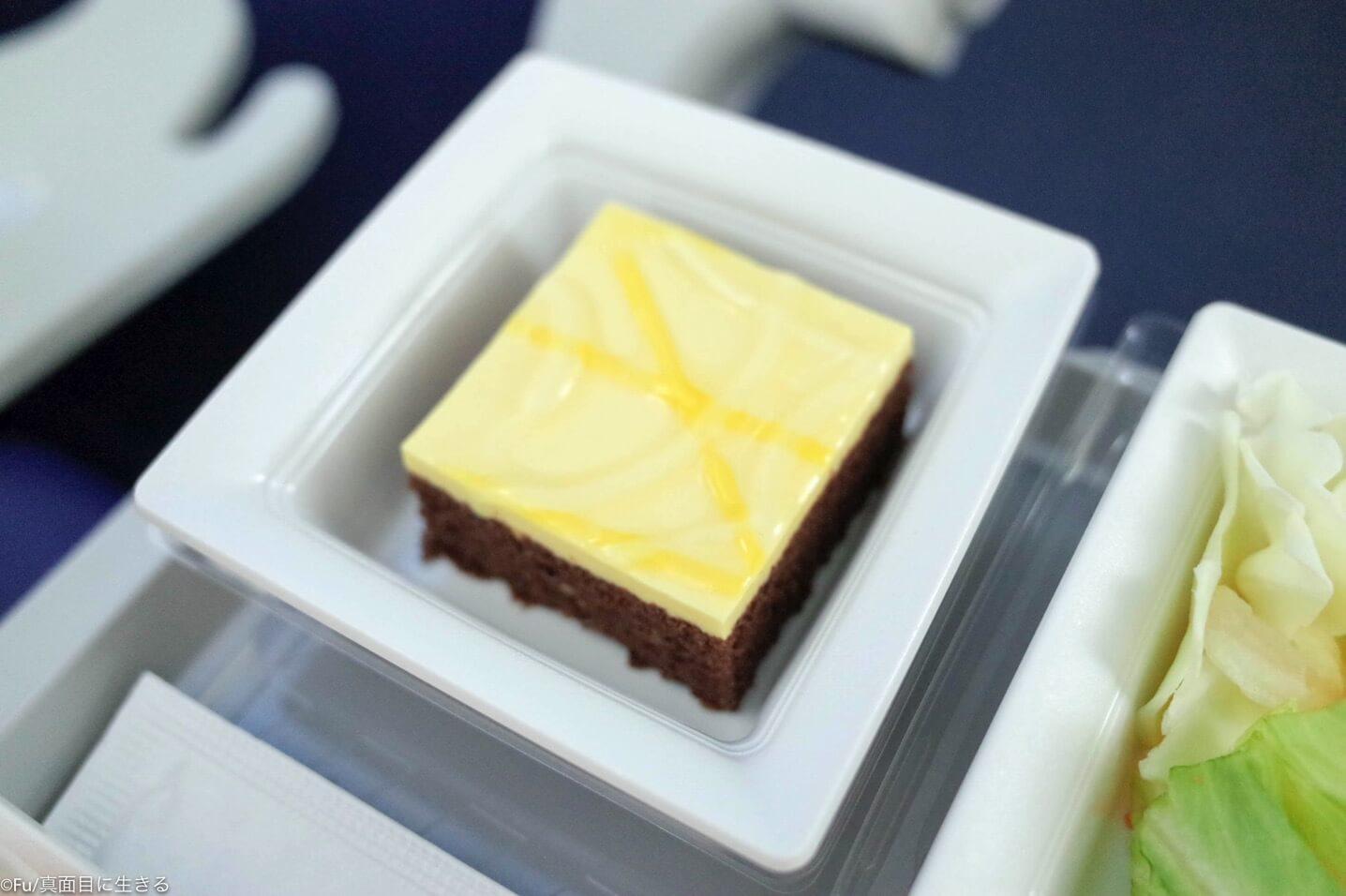 機内食デザート