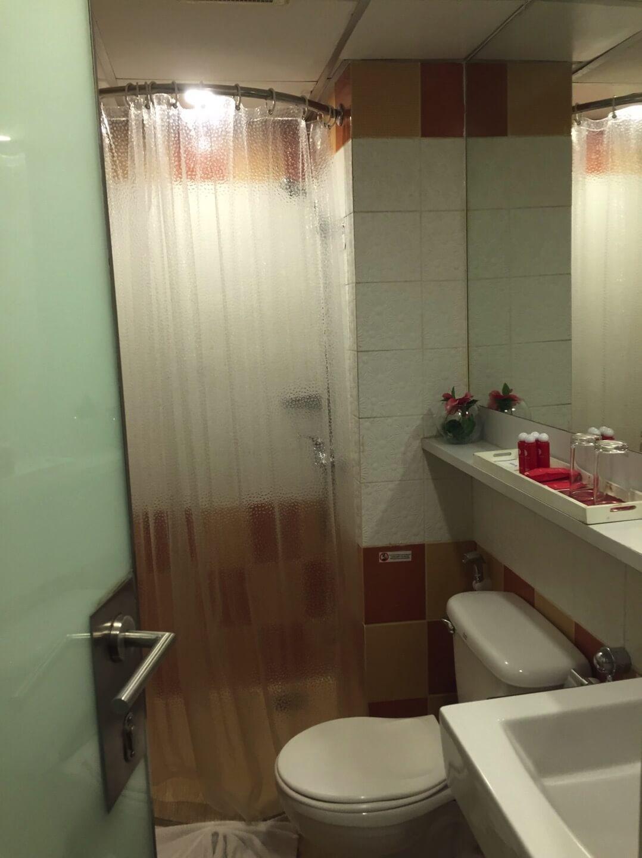 ホテルの浴室