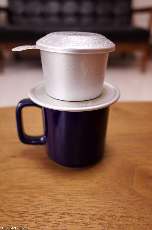 ベトナムコーヒーを入れる