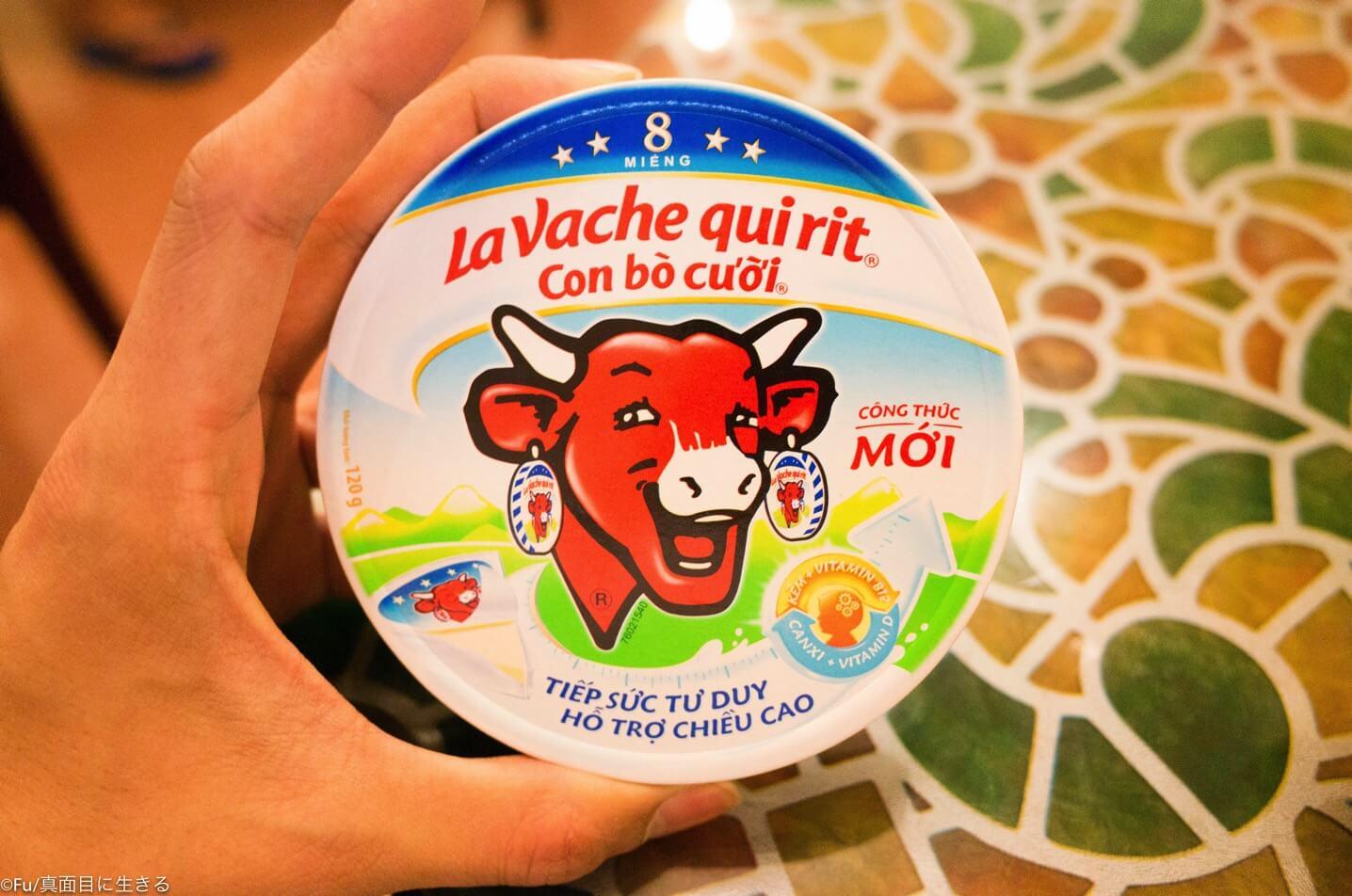 ベトナムで売ってクリームチーズ