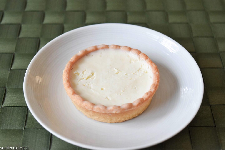 セブンイレブン 2種チーズのレアチーズタルト