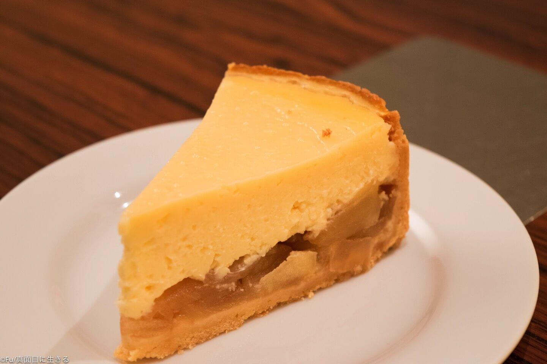 アップルチーズケーキ