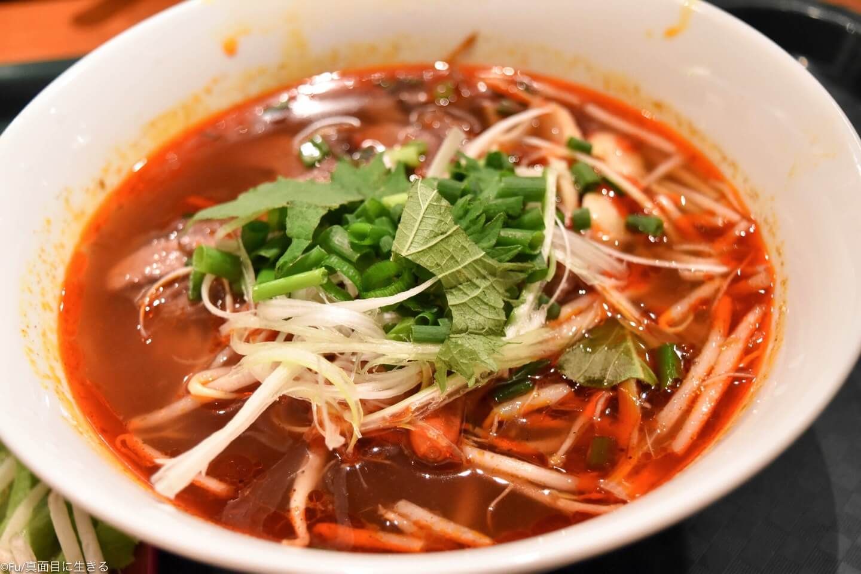 高田馬場「チャオハノイ」ランチの種類が豊富なベトナム料理店 セットには生春巻きやチェーがついてボリュームたっぷり