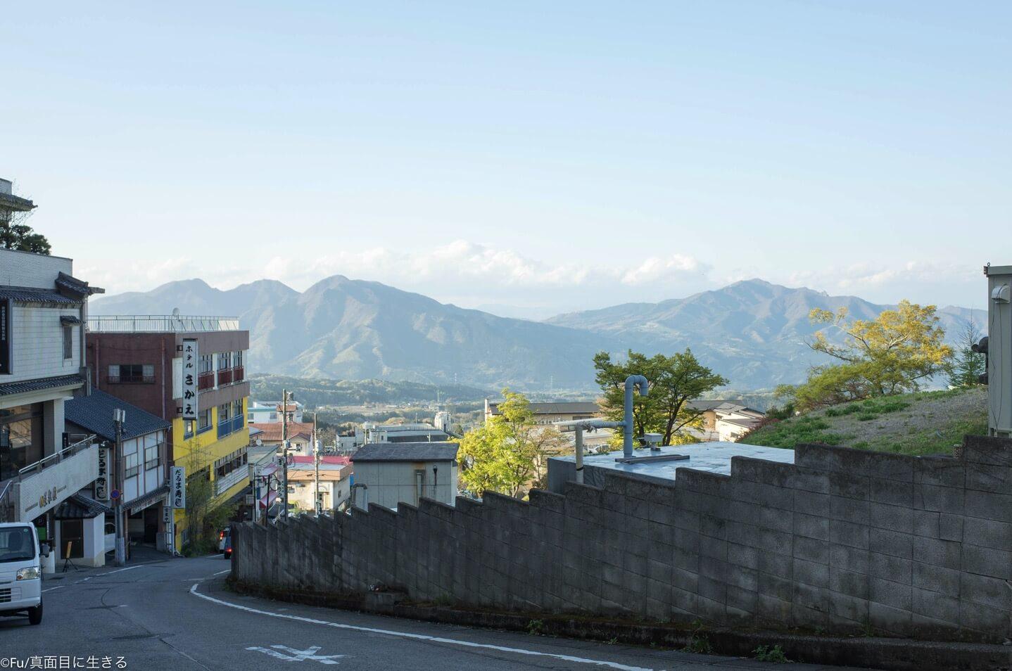 伊香保の風景