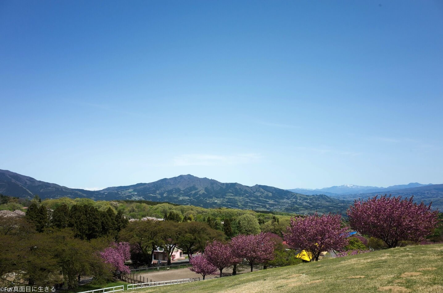 高台からの風景
