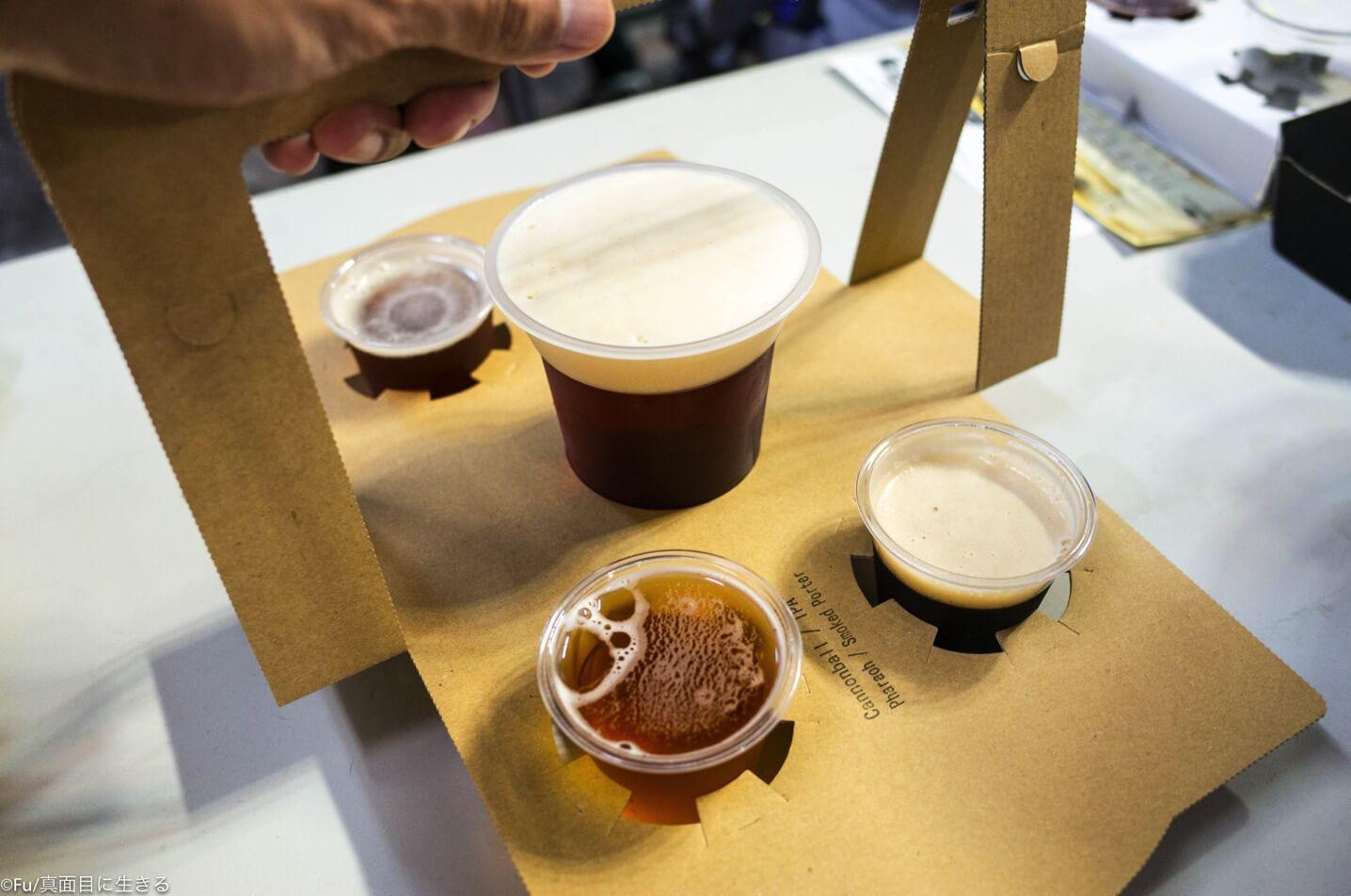 所沢ビールの飲み比べセット