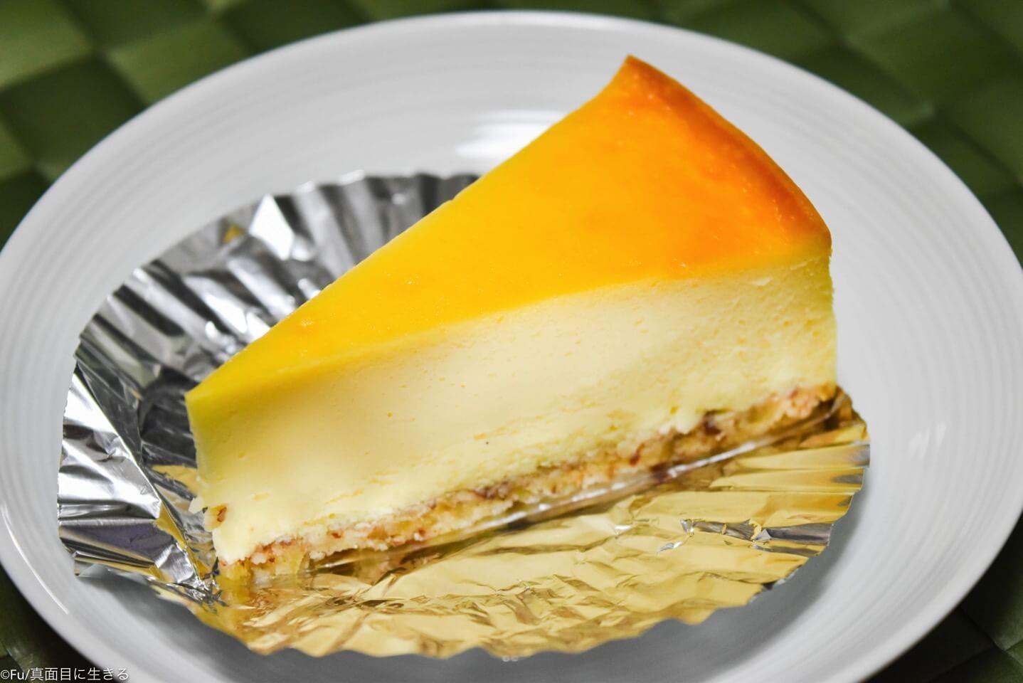アフターアワーズのチーズケーキ