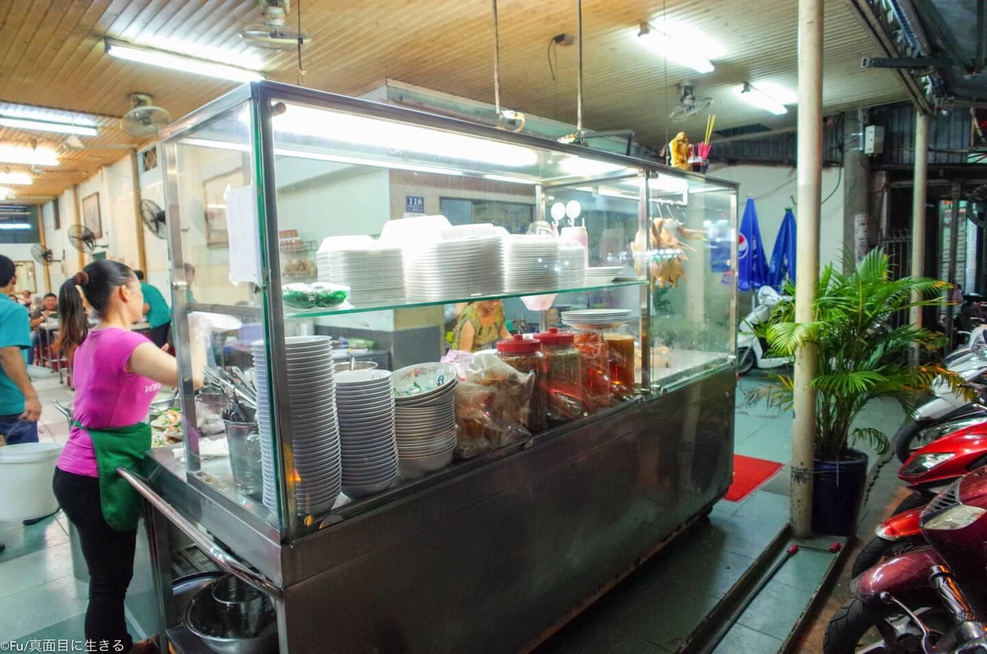 店頭の台所