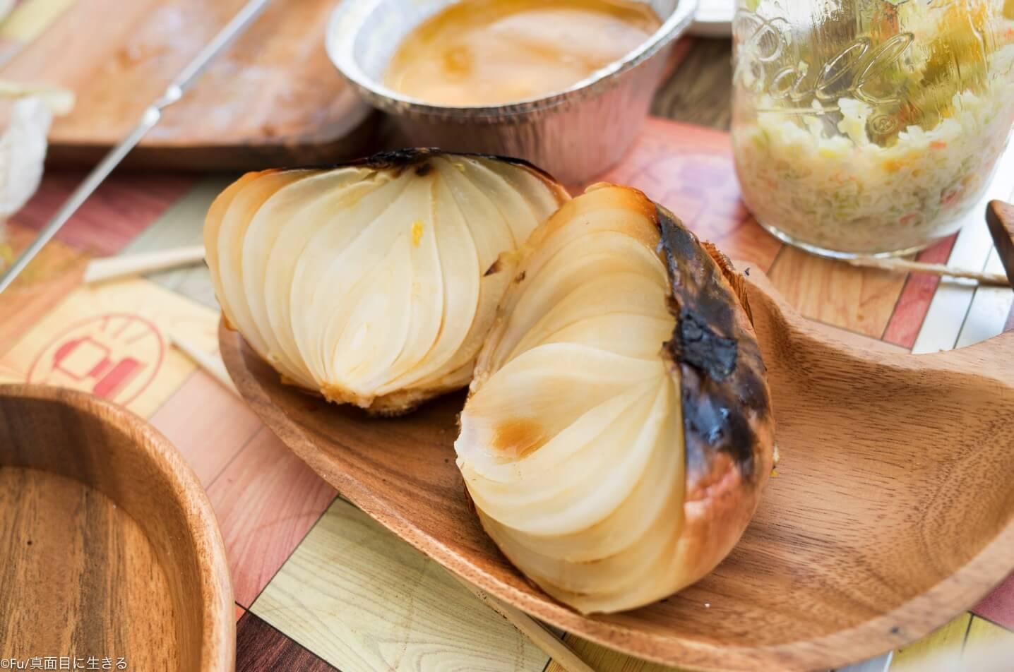 玉ねぎの丸焼き