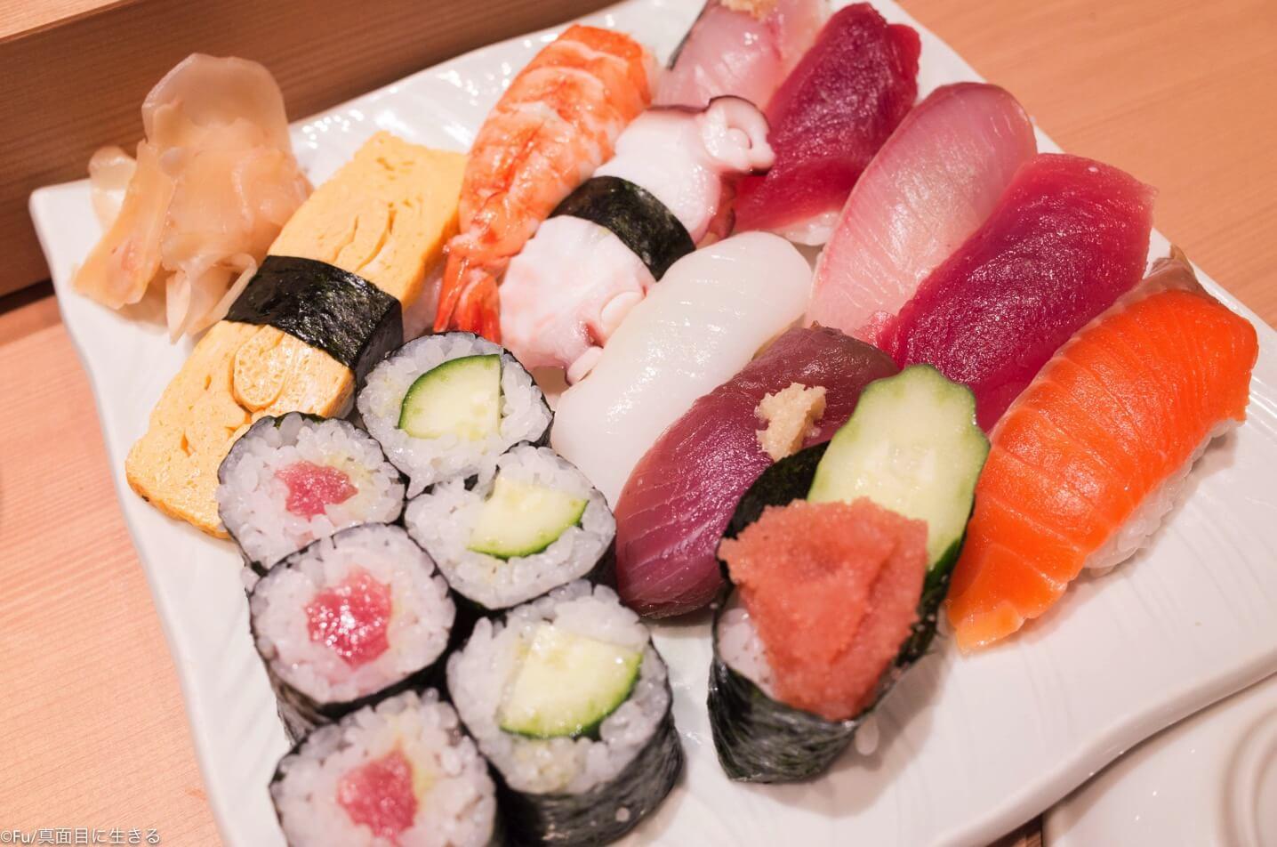 寿司1,5人前