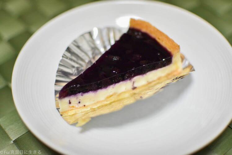 ブルーベリーチーズケーキ