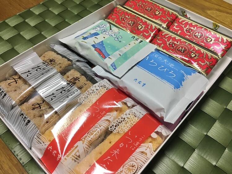 六花亭お菓子