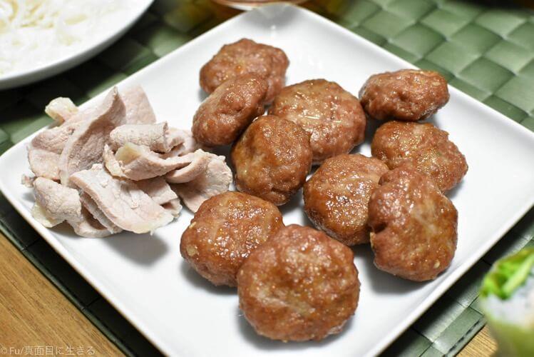 ブンチャー用の肉