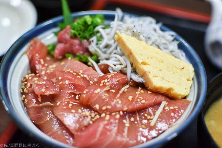 さかな料理 まつばら 三浦海岸駅近で極上のマグロ丼を堪能!【みさきまぐろきっぷ日帰り旅行】