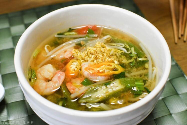 ベトナムのスープ
