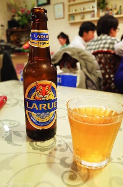 ラルーで乾杯