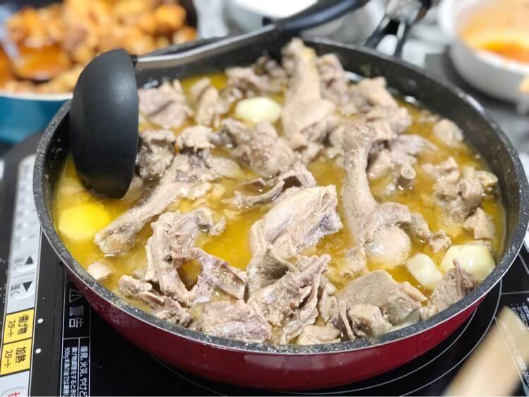 アヒルの鍋