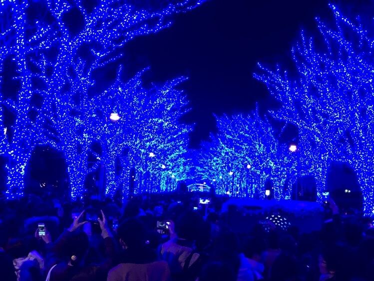 青の洞窟の風景