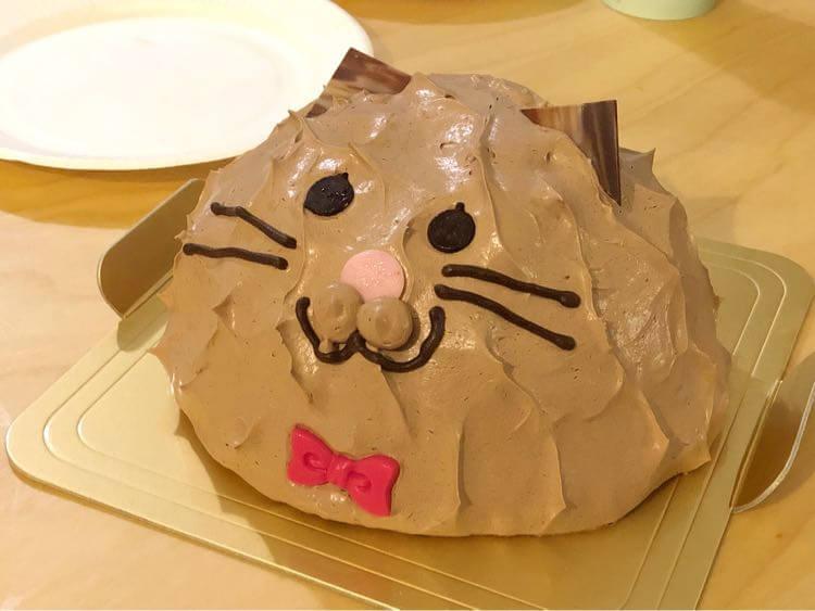 妹が買ってきたケーキ