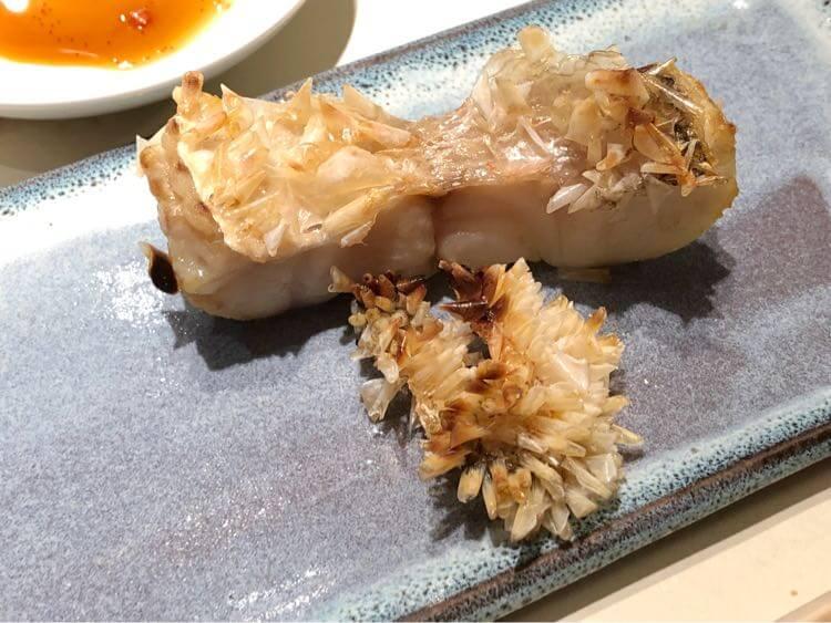 甘鯛の松笠焼