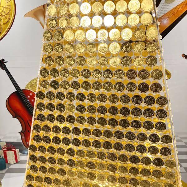 2017枚の金貨