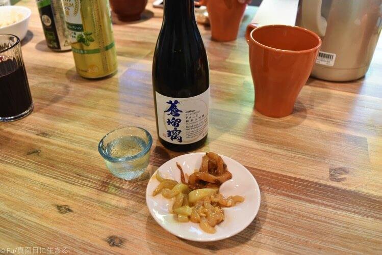 日本酒と味見