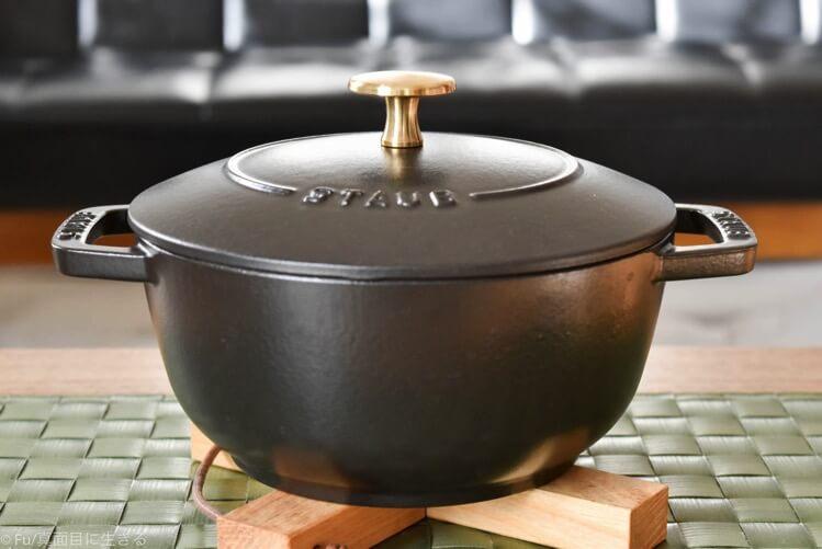 ストウブ Wa-NABE(ワナベ)Mサイズ【口コミ・購入体験談】冬の鍋料理から炊飯まで使いやすい