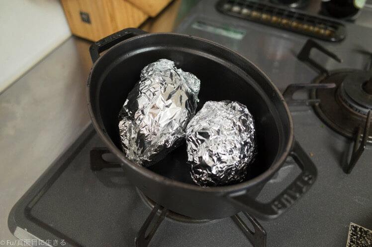 鍋に入れる