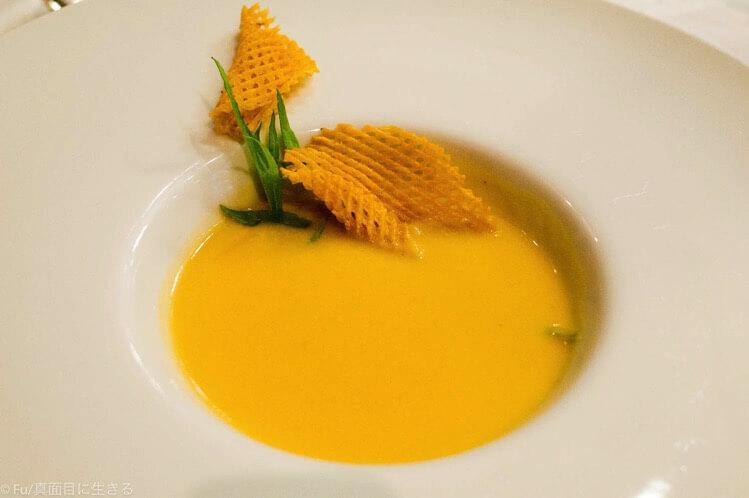 スープ 安納芋のポタージュ