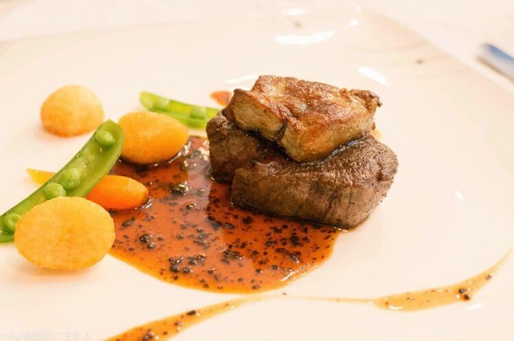 エスカーレ ホテルモントレ銀座店 お正月元日からやっているフランス料理レストランでランチを堪能