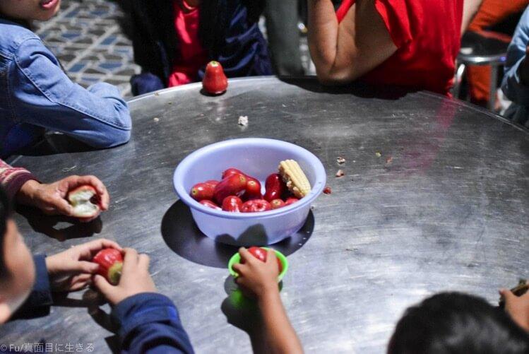 果物のサービス