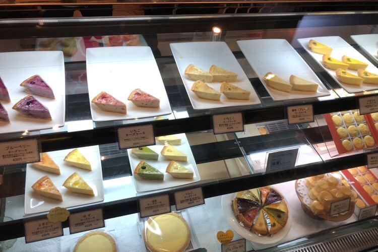 チーズケーキがいっぱい