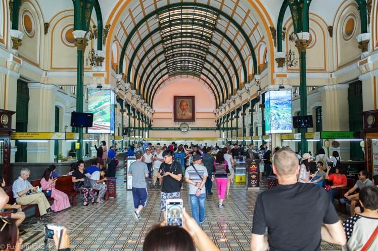 ホーチミン サイゴン中央郵便局に行ってきた。楽しみ方・行き方・営業時間・料金を解説
