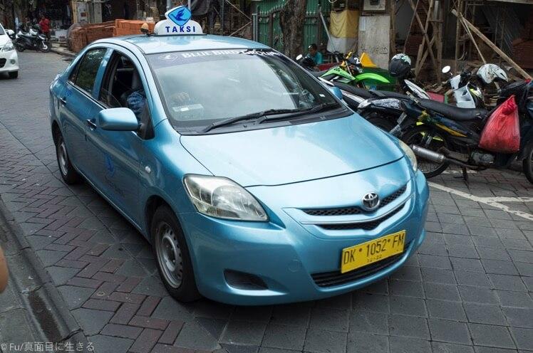 バリ島 ブルーバードタクシー(安全なタクシー)を見分ける方法・3つの特徴