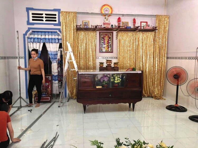結婚式に向けてデコレーションしたり、両親がベトナム入りした1日【Fu/真面目な日常】【結婚式日記19日目】