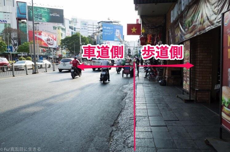 車道・歩道