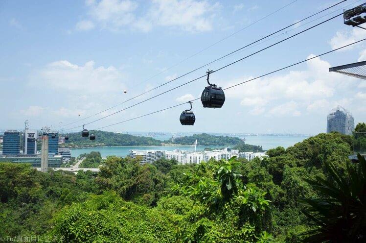 シンガポール セントーサ島 ケーブルカー【徹底ガイド】割引クーポンチケット、料金、行き方など