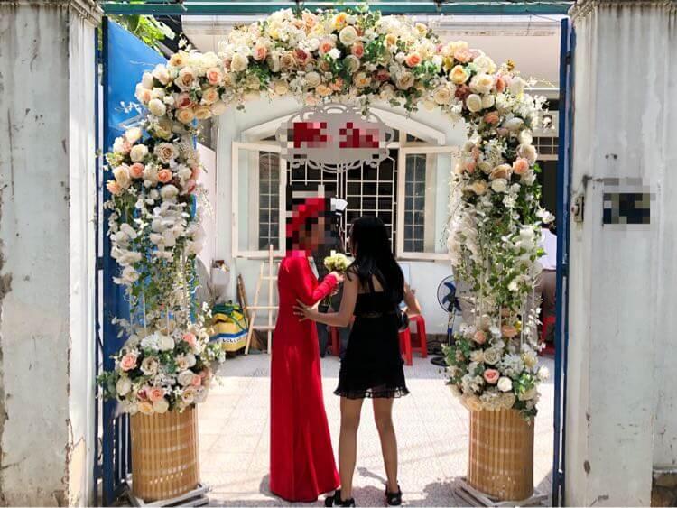 嫁の友達の結婚式に出席したり、ホーチミンで花火を見た1日【Fu/真面目な日常】【結婚式日記27日目】