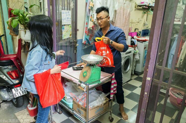 ホーチミン「BAO CHAU」ランドリー(クリーニング・洗濯)ベンタイン市場近くでオススメ