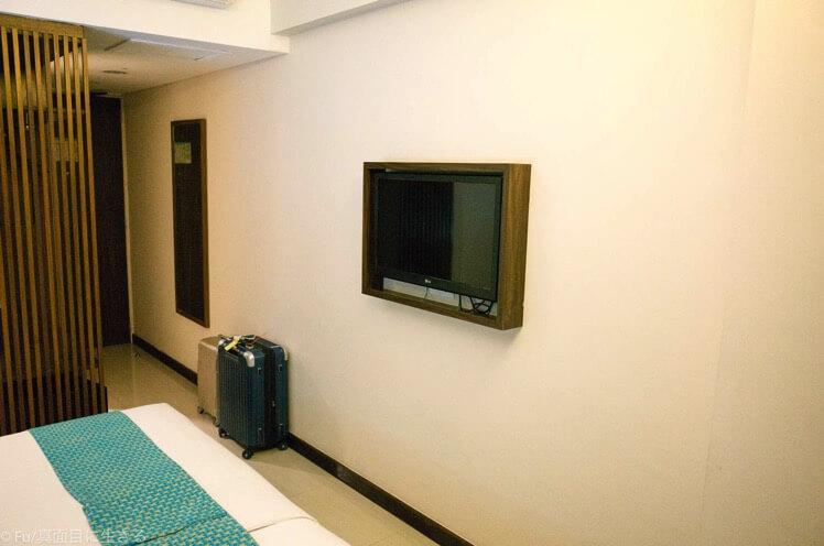 部屋・テレビ