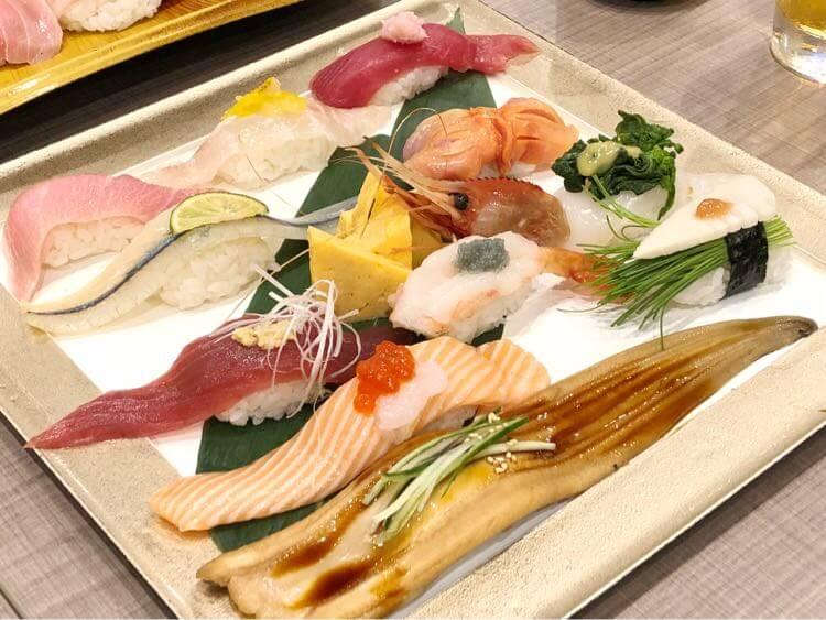 寿司 春の盛り合わせ