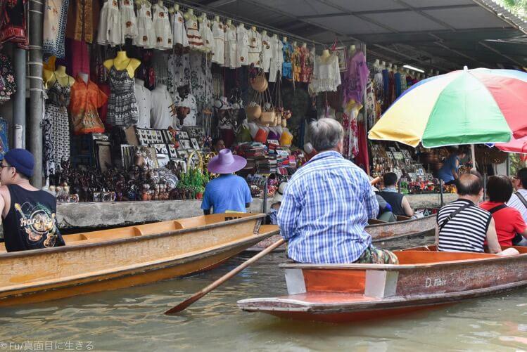水上のマーケット