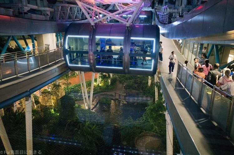 シンガポールフライヤー(観覧車)から夜景をレポート、注意事項を解説