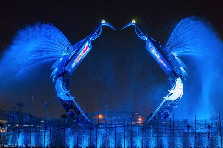 セントーサ島 クレーンダンスは無料でクオリティ高い【シンガポール徹底ガイド】