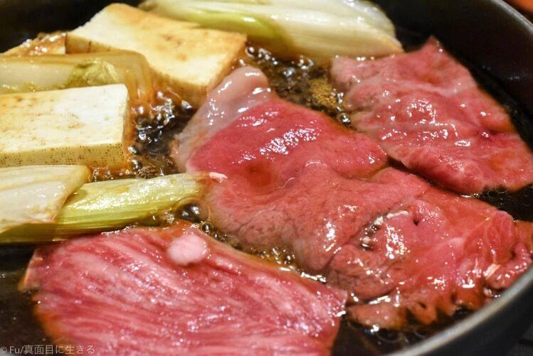 浅草 今半本店『特選牛ロースすき焼き』霜降り和牛が最高においしい。奥座敷(要予約)は家族の祝い事、接待にオススメ
