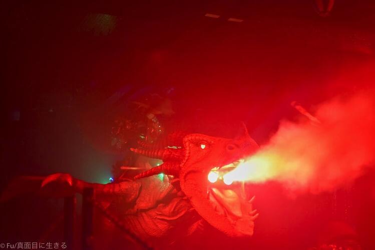ロボットレストラン 火を吐くドラゴン